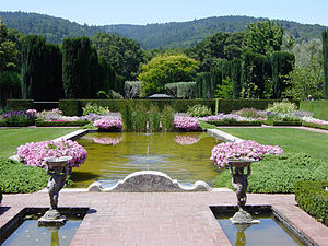 Filoli Garden Pool