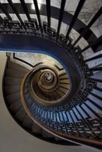 Staircase of Mechanincs Institute. Photo: Mike Behnken