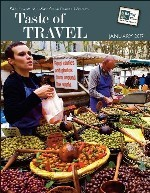 """Taste of Travel"" - Cover"